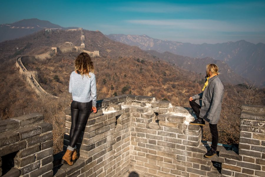 8 Hour Layover in Beijing. Visit the Great Wall. One Love Our Love